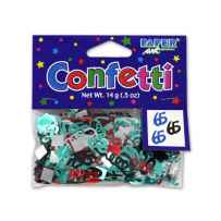 Wholesale 65th birthday confetti KH703
