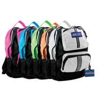 "Wholesale BAZIC 17"" Active Backpack 1002"