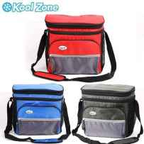 Wholesale 12 Can Cooler Bag W/ Hard Plastic Bucket (asst.color: Blue/red/olive) CB-1200