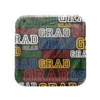 Wholesale Colors of Graduation Square Dinner Plates Set PA897