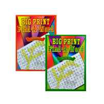 Wholesale Big Print Find-a-Word Puzzle Book GM596