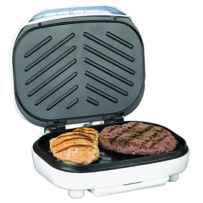 Wholesale Electric Contact Grill 2 Slice Capacity - White TS-605