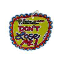 Wholesale dont lose me luggage tag BG066