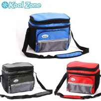 Wholesale 6 Can Cooler Bag W/ Hard Plastic Bucket (asst.color: Blue/red/olive) CB-600