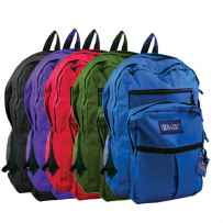 "Wholesale BAZIC 17"" School Backpack 1003"