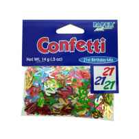 Wholesale 21st birthday confetti KS913