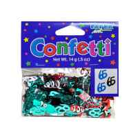 Wholesale 65th birthday confetti KH713