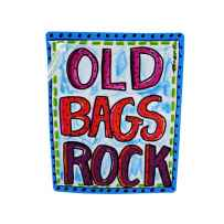 Wholesale old bags rock luggage tag BG065
