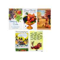 Wholesale Thanksgiving Card Assortment OP532